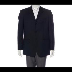 Calvin Klein 100% wool three button sport coat